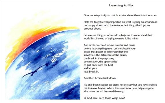 Learning to fly page