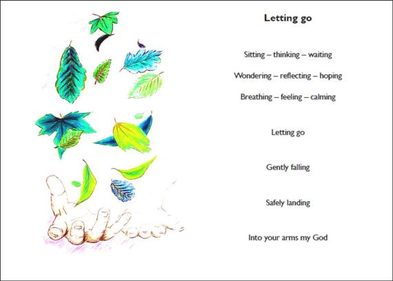 Letting go page