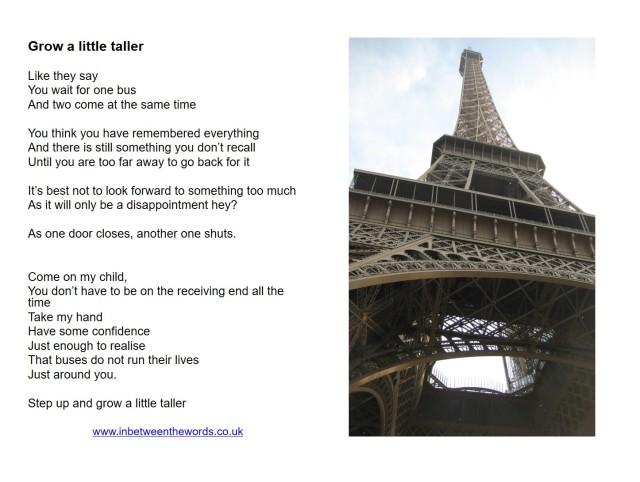 Grow a littel taller