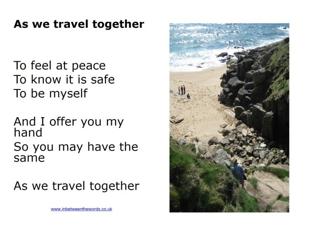 As we travel together